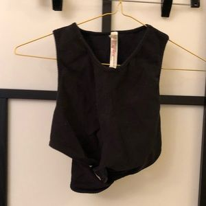 Free People movement crop top size xs